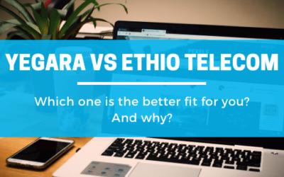 Yegara VS Ethio telecom Web Hosting in Ethiopia – 2020 Comparision
